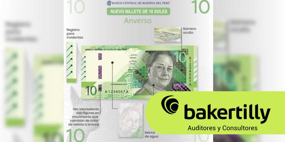 BCR Emite billetes de S 10 y S 100 con nuevos diseños